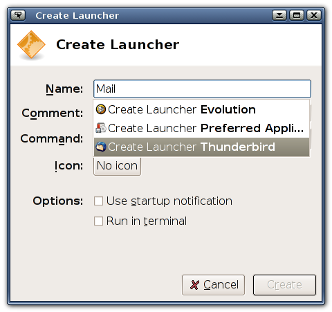 Creating Launchers