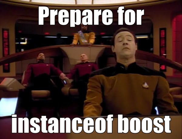 Prepare for instanceof boost