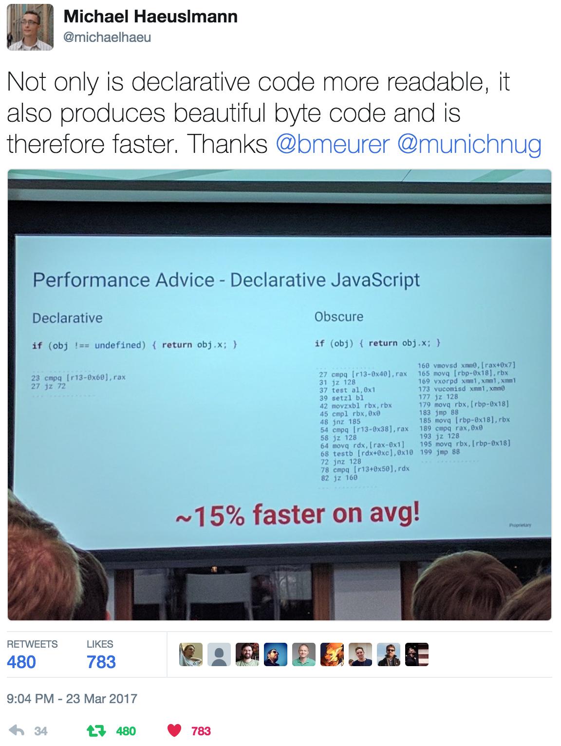 Declarative JavaScript